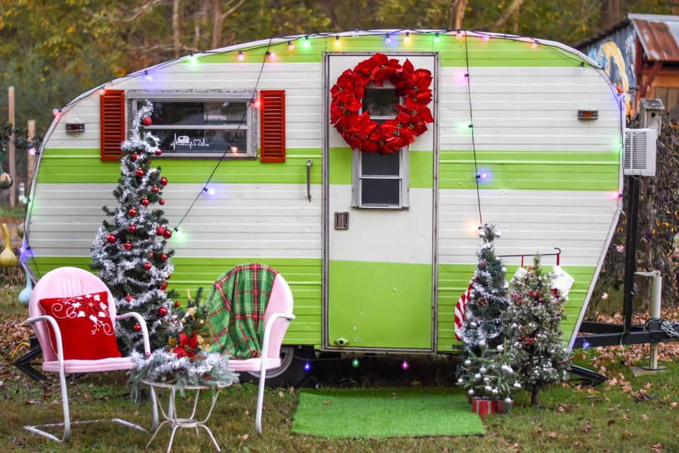 Christmas Camper